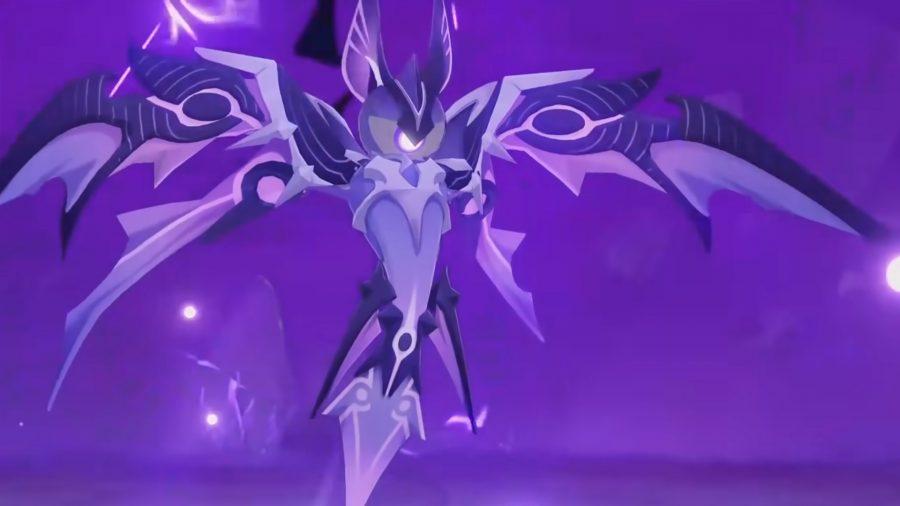 El Electro Oceanid en Genshin Impact se prepara para luchar