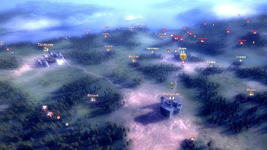 el mapa de la campaña en real warfare 2, un juego como la guerra total